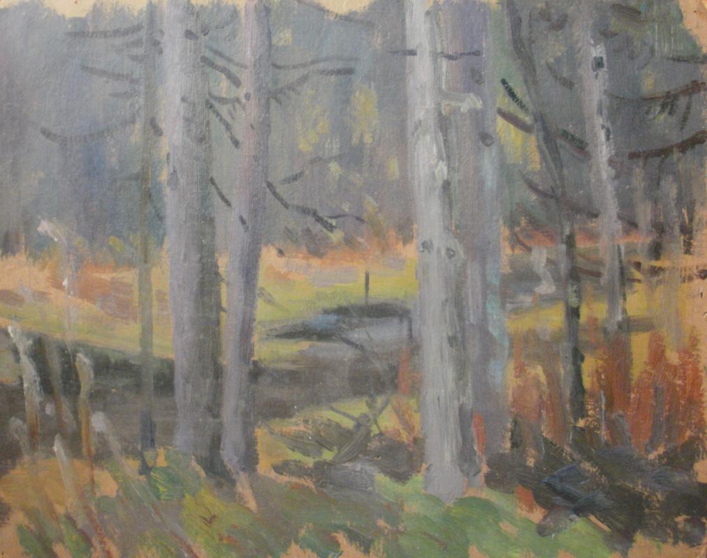 Nina Vasilievna Sedova. Through the thicket