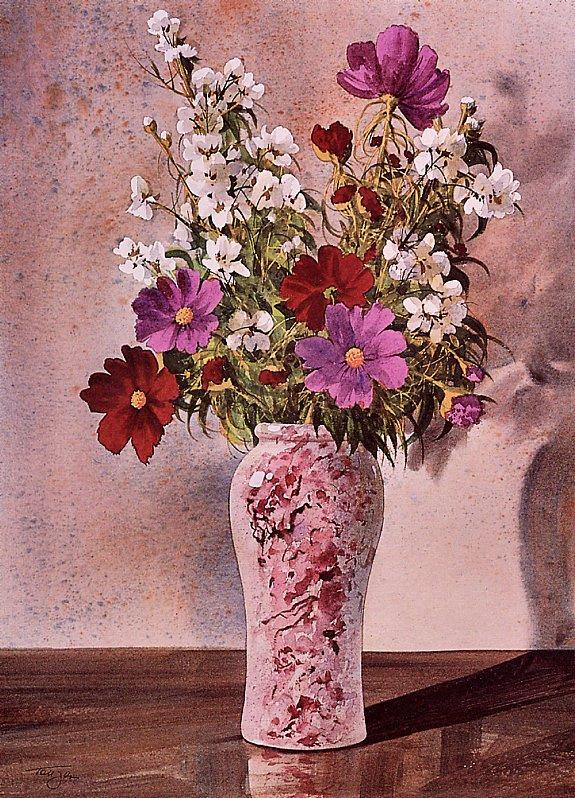 Пьер Тоугас. Различные цветы