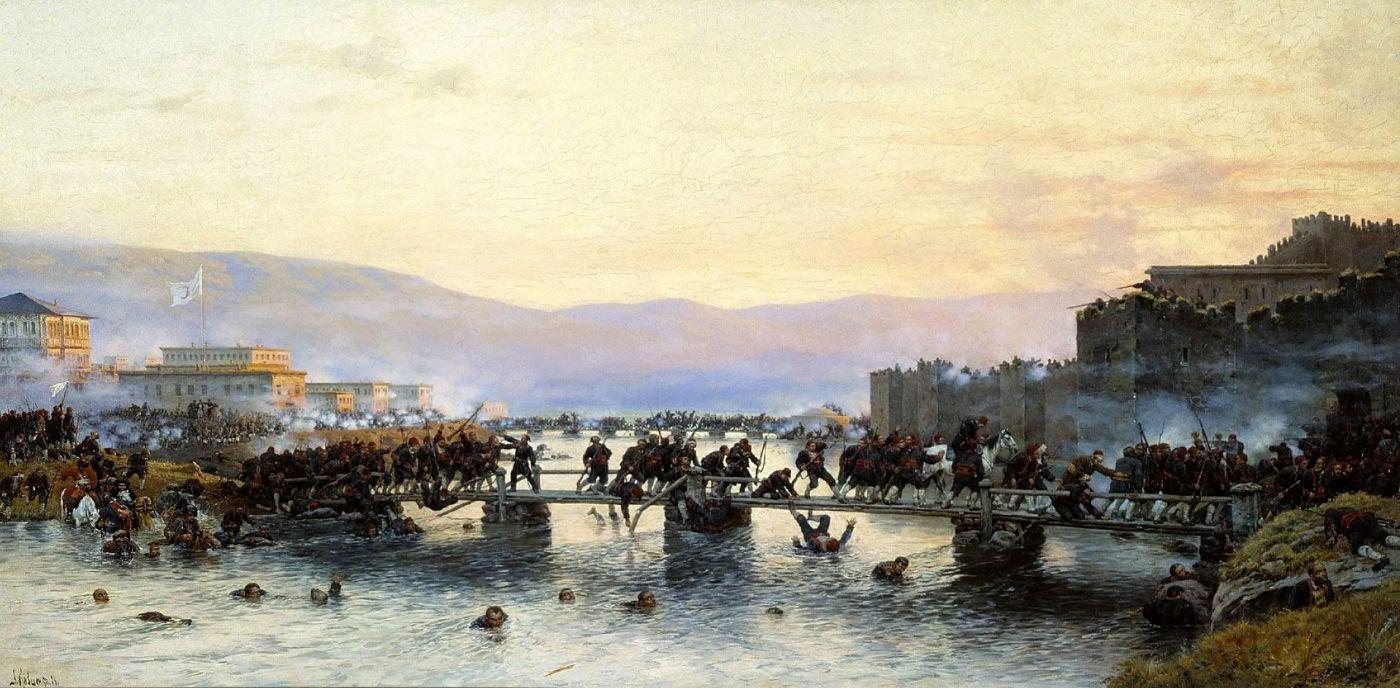 Алексей Данилович Кившенко. Штурм крепости Ардаган 5 мая 1877 года