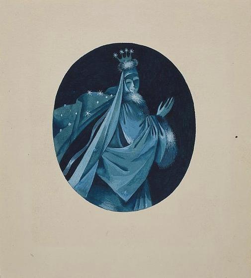 Снежная королева. Иллюстрация к книге «Сказки и истории» Ганса Христиана Андерсена