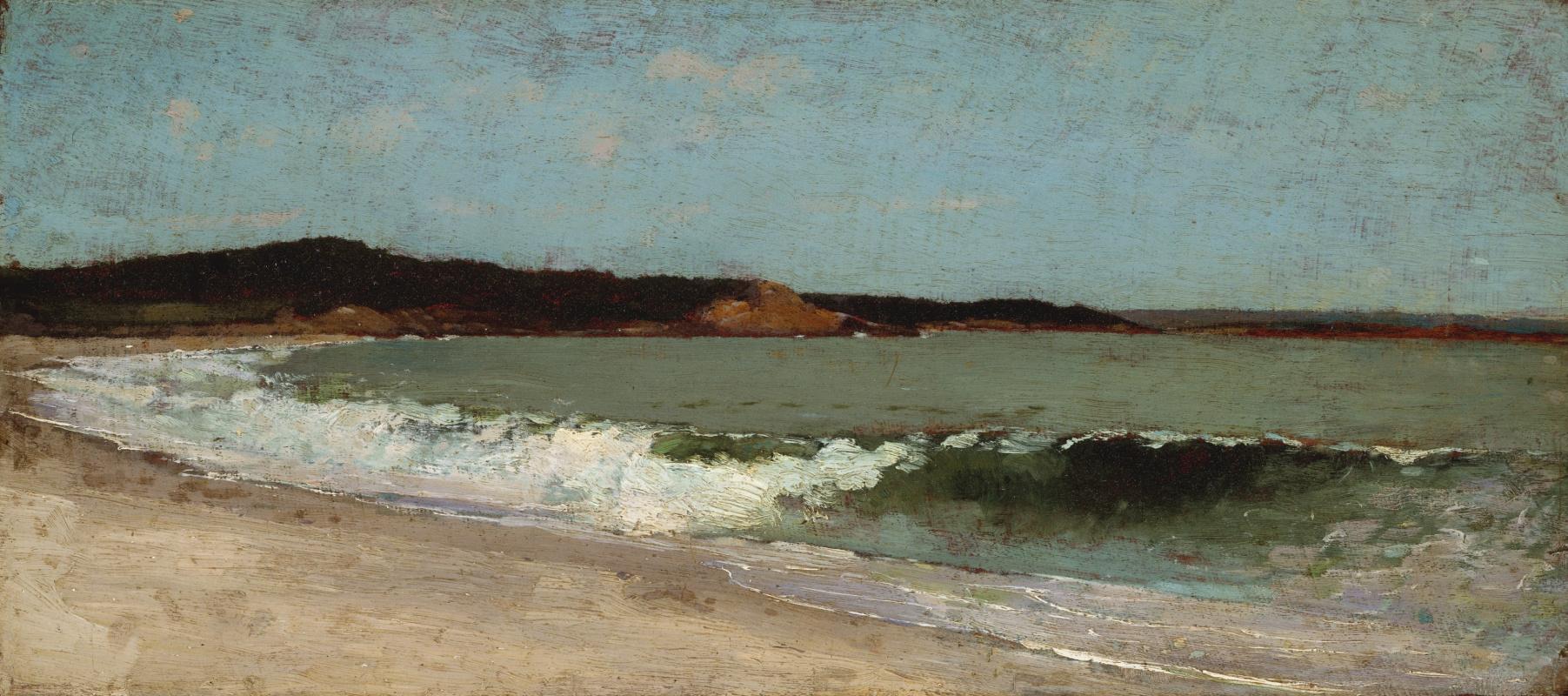 Winslow Homer. Eagle head, Manchester, Massachusetts. Sketch