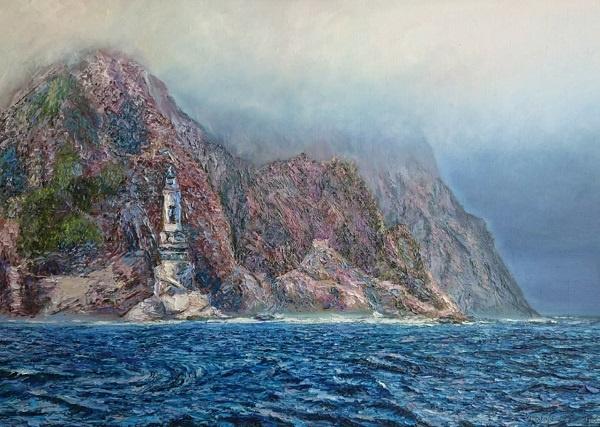 Evgeny Vladimirovich Terentyev. Lighthouse in the ocean