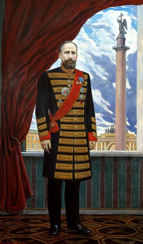 Ilya Glazunov. Portrait Of Stolypin