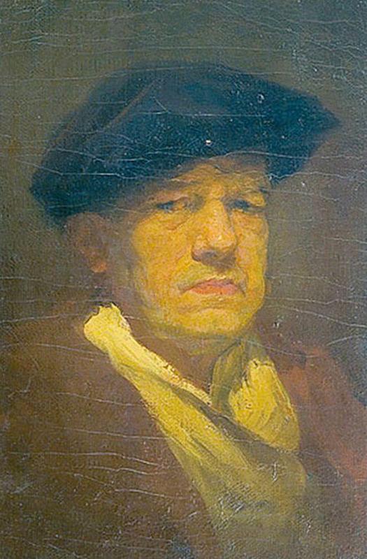 Павел Дмитриевич Шмаров. Автопортрет
