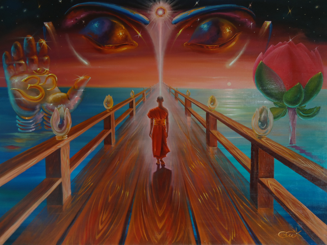 "Sergey Mogilevsky. ""The Path to Enlightenment - ENLIGHTENED"""