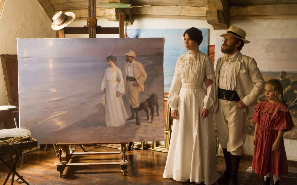 "Кадр из фильма Жена художника"" (Marie Krøyer, 2012)."