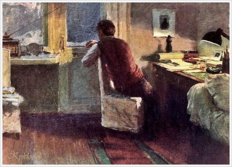 Mikhail Alexandrovich Kupriyanov. Getting dark