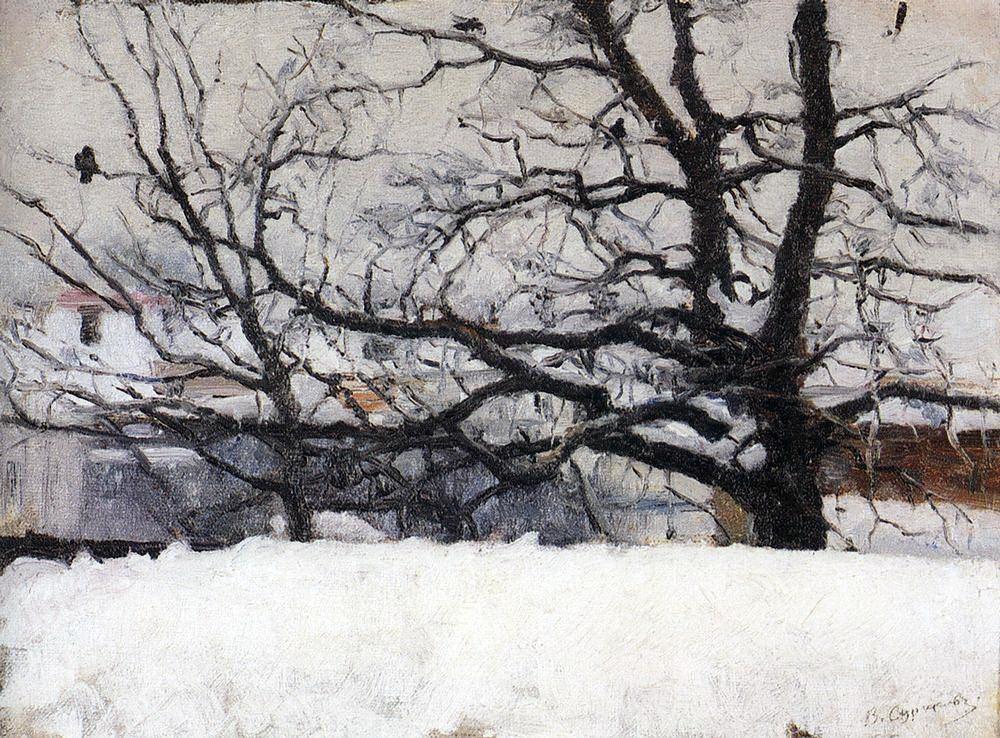 Василий Иванович Суриков. Зима в Москве