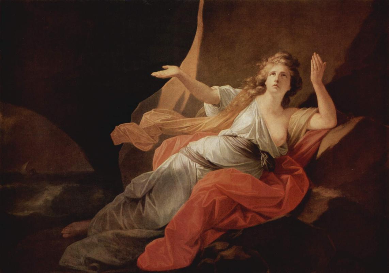 Henry Friedrich Füger. The Death Of Didon