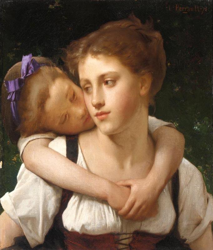 Леон Базиль Перро Франция 1832-1908. Материнство. 1870