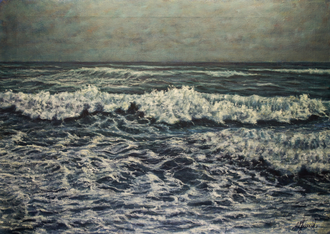 Valery Levchenko. No. 469 Seascape.
