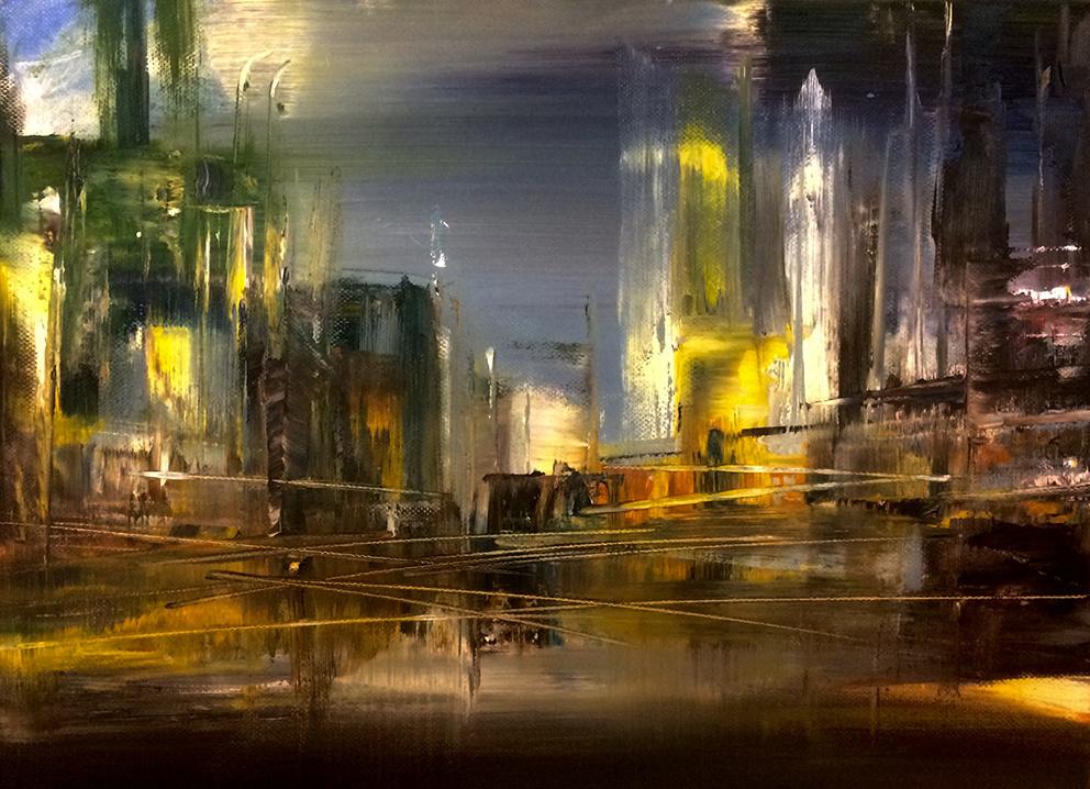 Robert Hettich. On the golden road