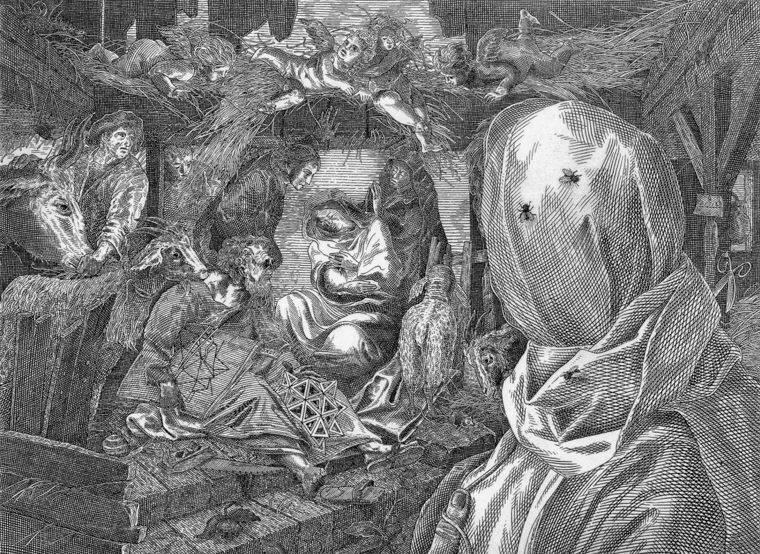 Istvan Oros. Dali and the Holy Family