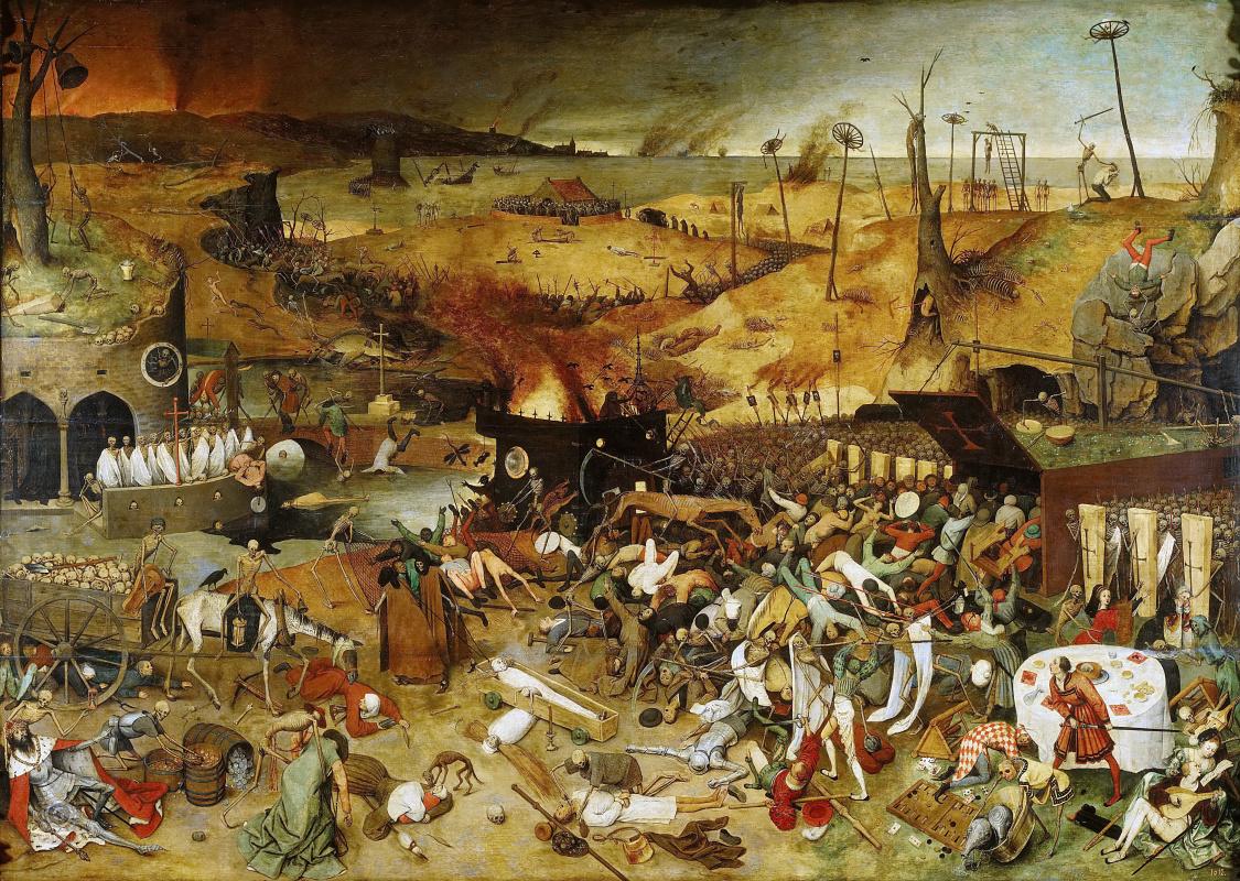 Pieter Bruegel The Elder. Triumph of death