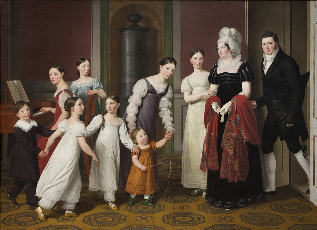Christopher Wilhelm Eckersberg. The Nathanson Family