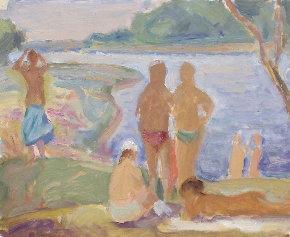 Fedor Fedorovich Melnikov. On the river