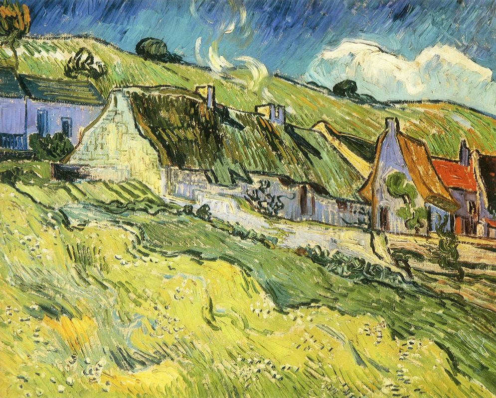 Винсент Ван Гог. Дома на холме