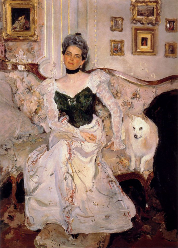 Valentin Aleksandrovich Serov. Princess Yusupov in his Palace on the Moika