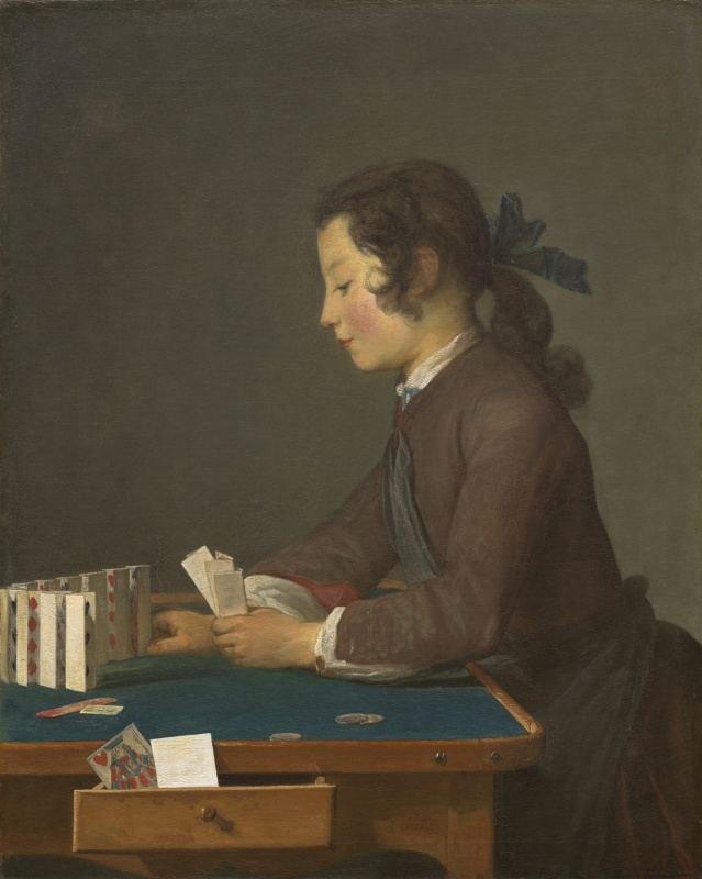 Jean Baptiste Simeon Chardin. House of cards