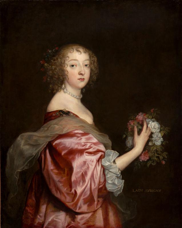 Anthony van Dyck. Katherine Howard, lady d ' Aubigny