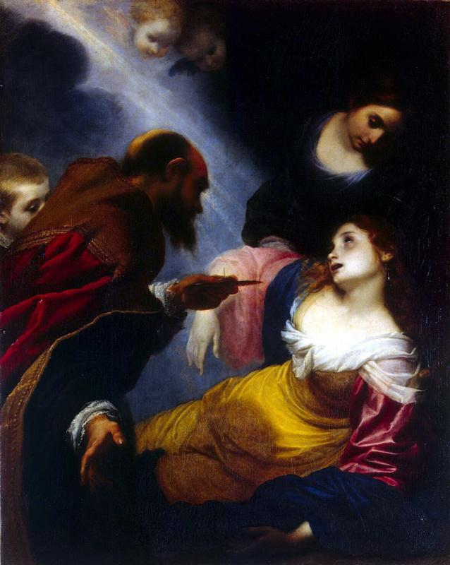 Симоне Пиньони. Смерть Святой Петрониллы