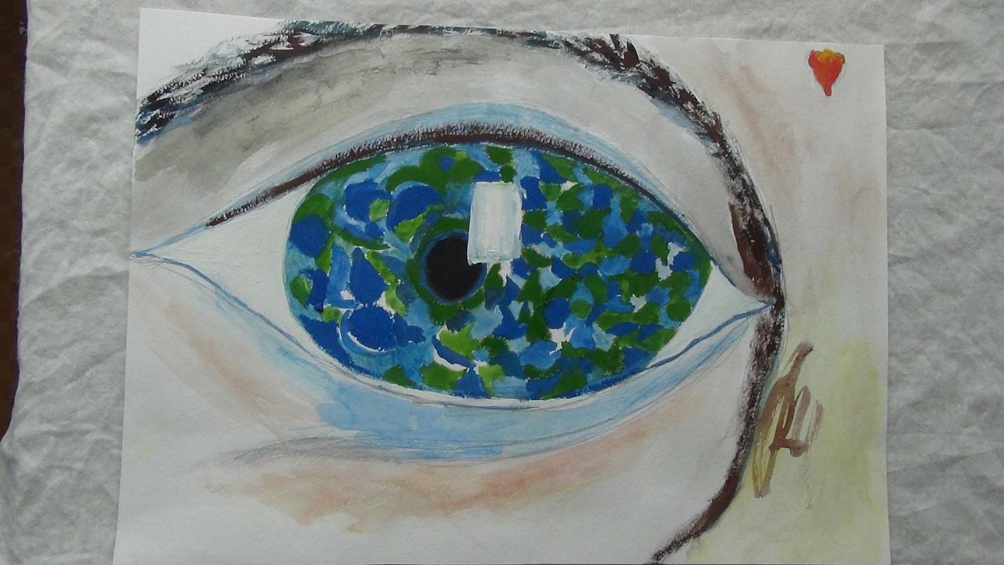 Yana Valerievna Chuprina. Eye
