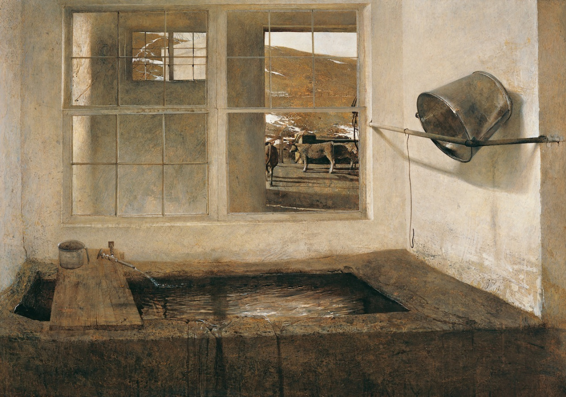 Andrew Wyeth. Spring grazing