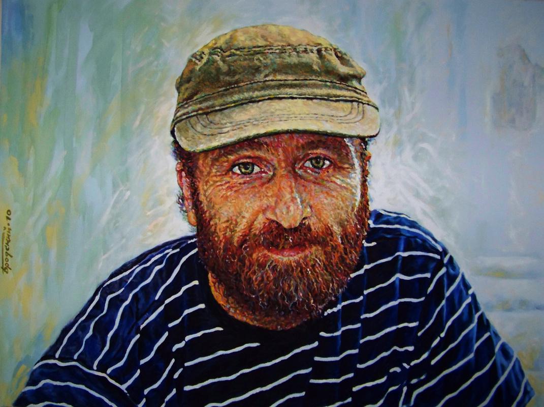 David Shikovich Brodsky. Artist Vladimir Gurin