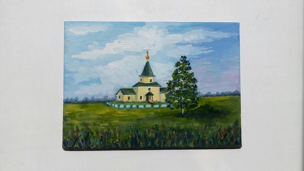 Catherine Satulina. Temple