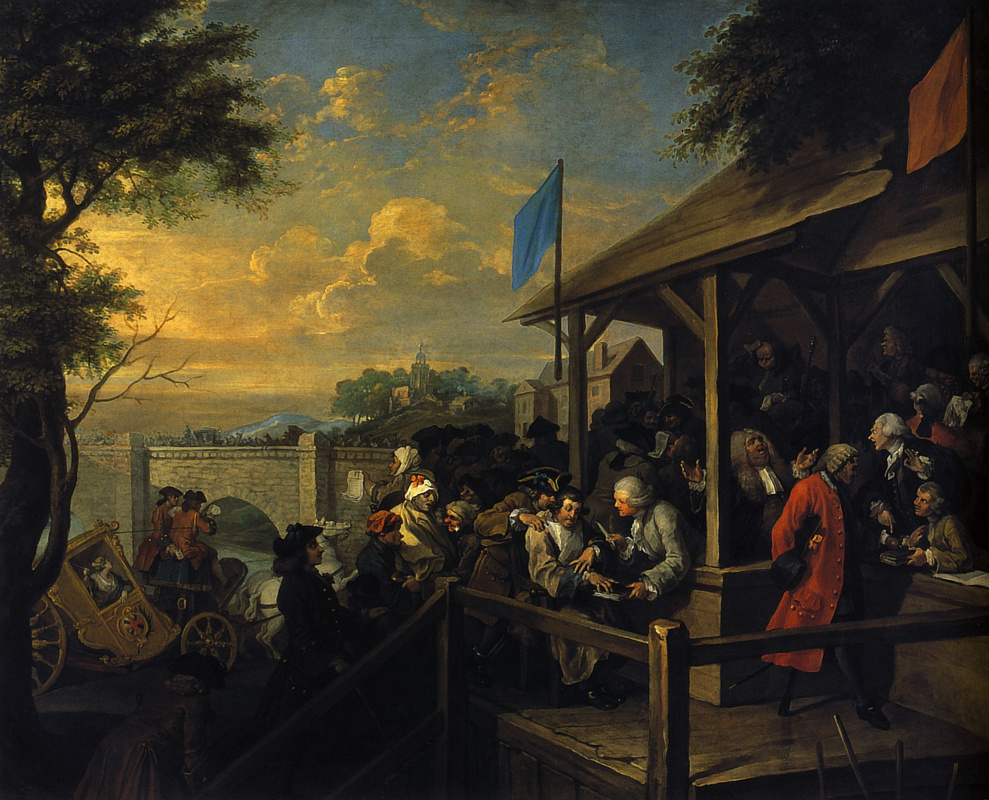 William Hogarth. Elections