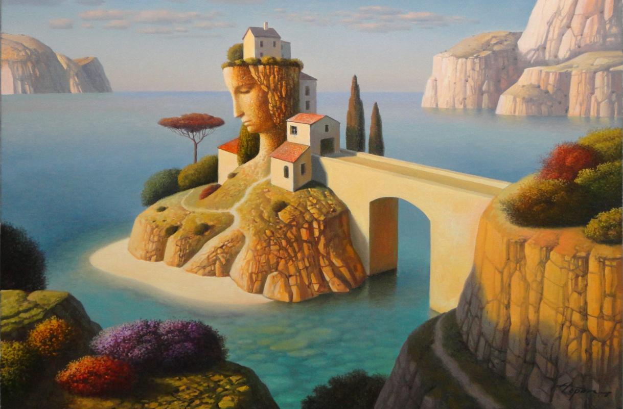 Evgeni (Eugene) Yakovlevich Gordiets (Gordian). Yellow Bridge Island