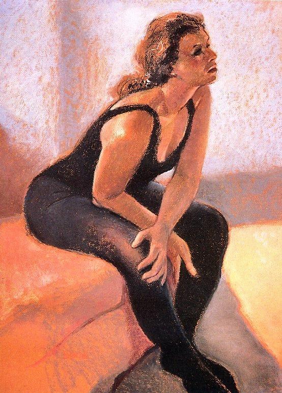 Джордж Балкан. Танцовщица