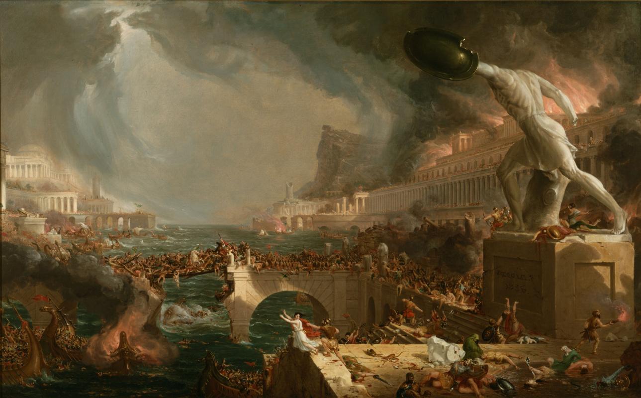 Томас Коул. Путь Империи. Крушение