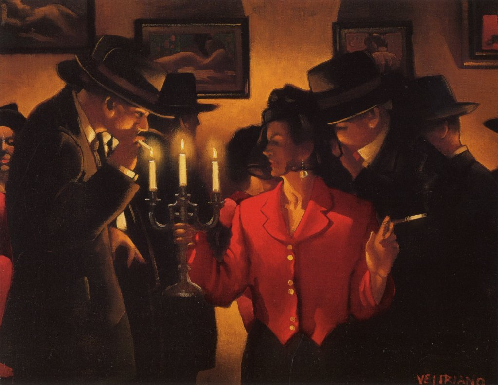 Jack Vettriano. The Queen of entertainment