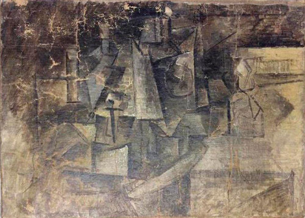 Пабло Пикассо. Парикмахерша