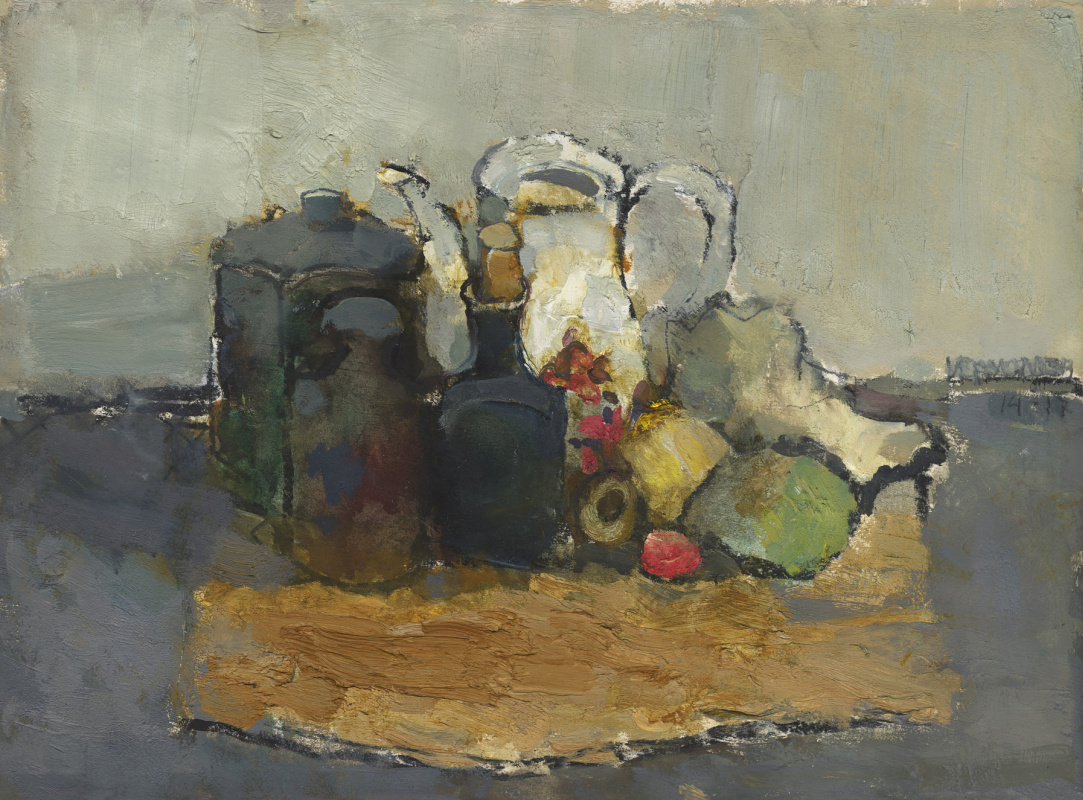 Igor Nikolaevich Ermolaev. Still life with drying