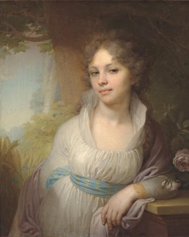 Vladimir Lukich Borovikovsky. Portrait of Maria Ivanovna Lopukhina