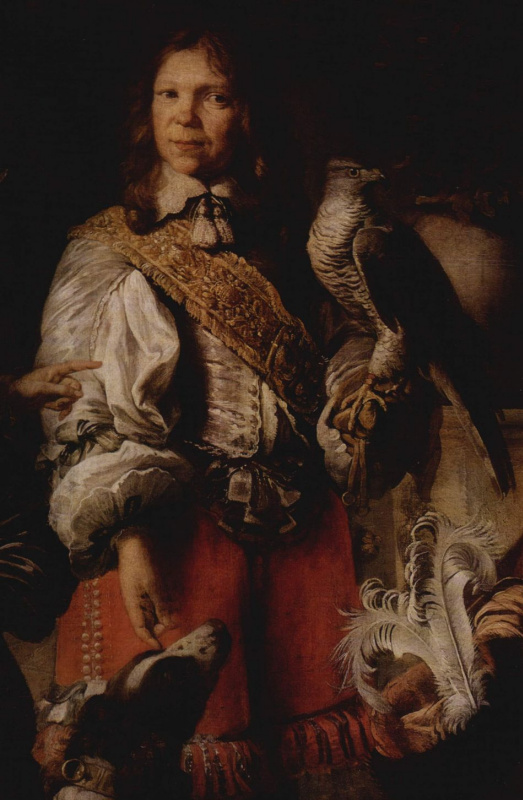 Даниэль Шульц. Семейный портрет, фрагмент