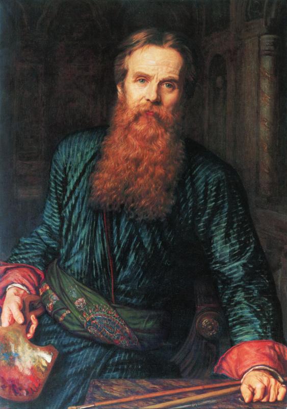 Уильям Холман Хант. Автопортрет