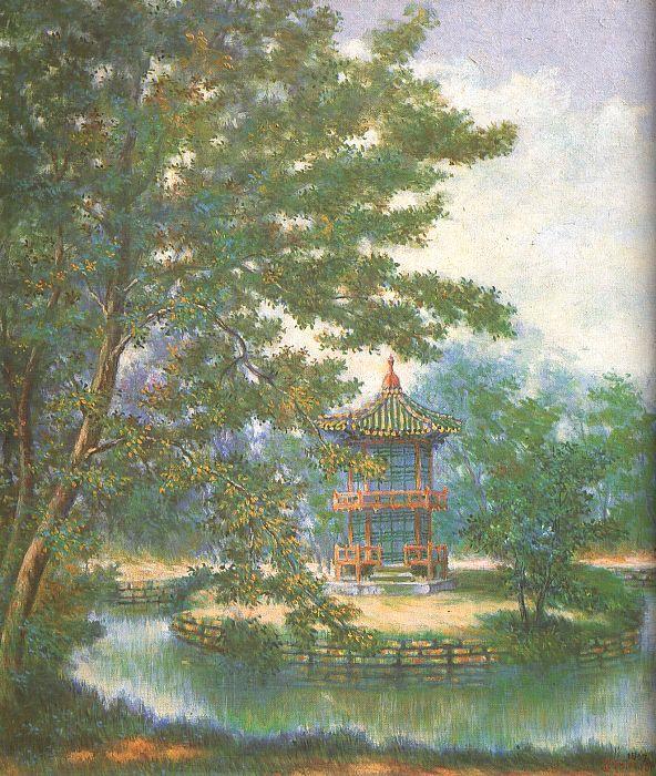 Бьюн Ши Джи. Пейзаж 8