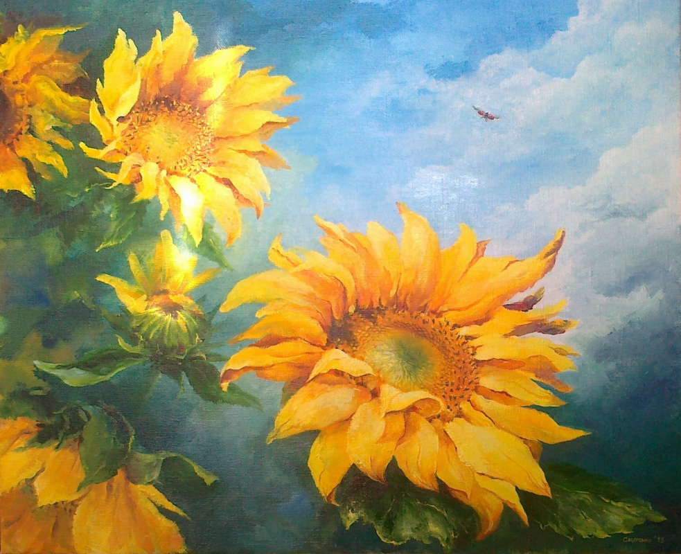 Julia Sidorenko. Solar flowers