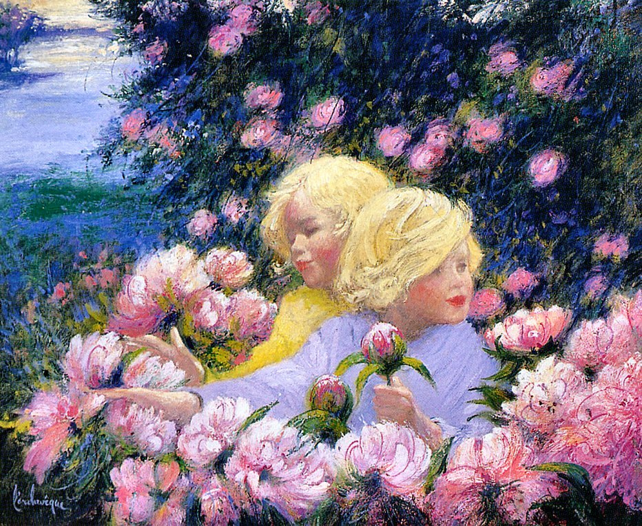 Андре Ларчевек. Солнечный сад