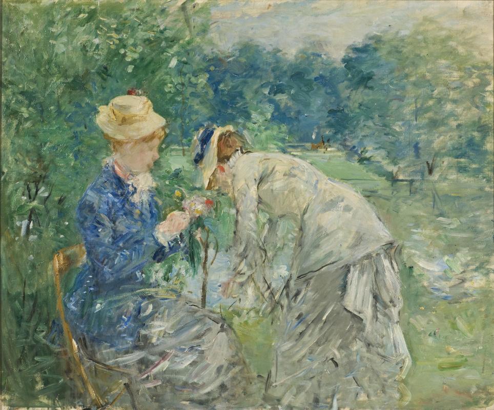 Berthe Morisot. In the Bois de Boulogne