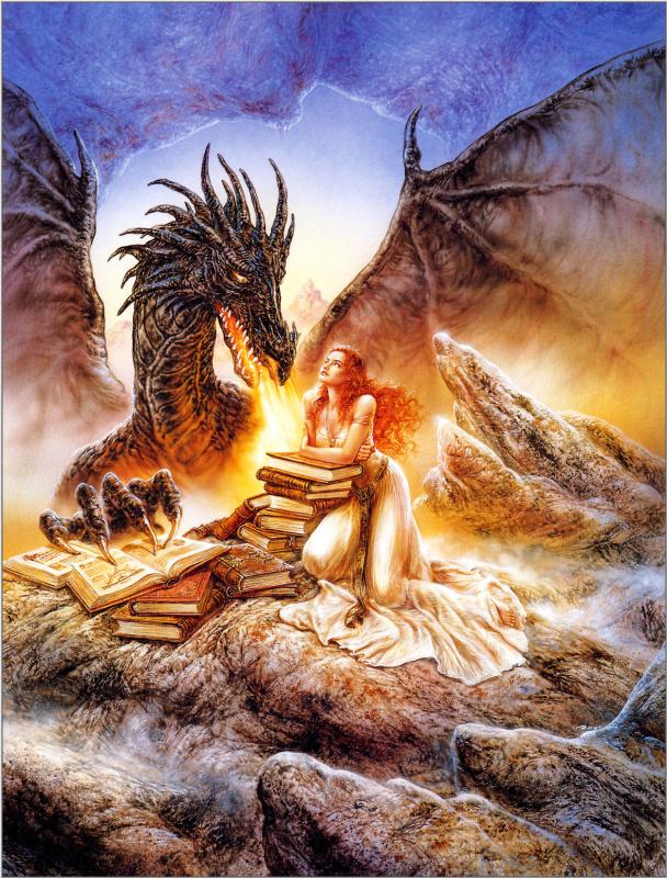 Луис Ройо. Библиотека дракона
