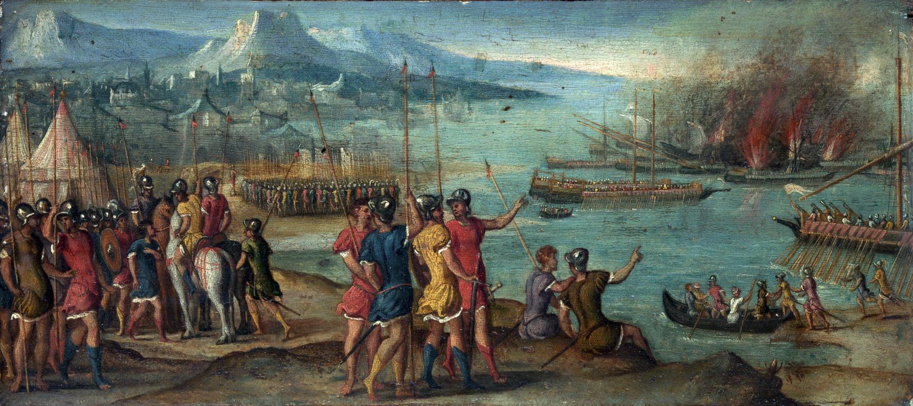Венецианская Итальянский. Морской бой
