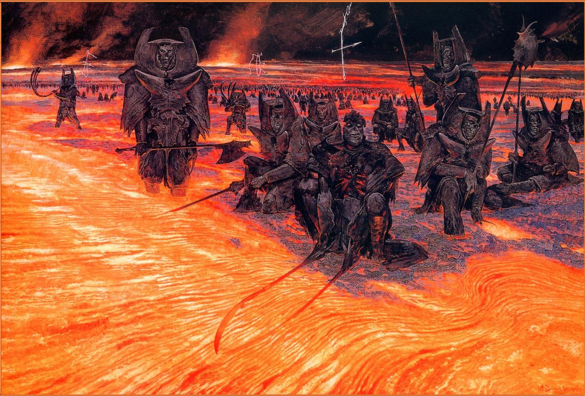 Уэйн Дуглас Барлоу. Легионы ада