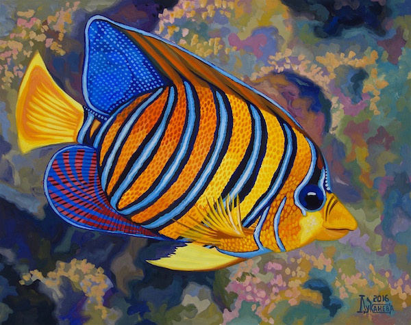 Larissa Lukaneva. Tropical fish