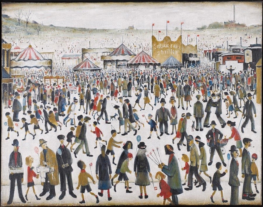 Lawrence Stephen Lowry. Fun Friday