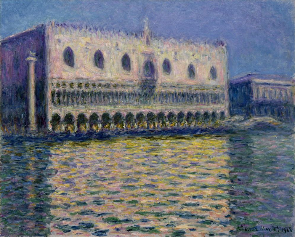 Claude Monet. The Palazzo Ducale. The Doge's Palace