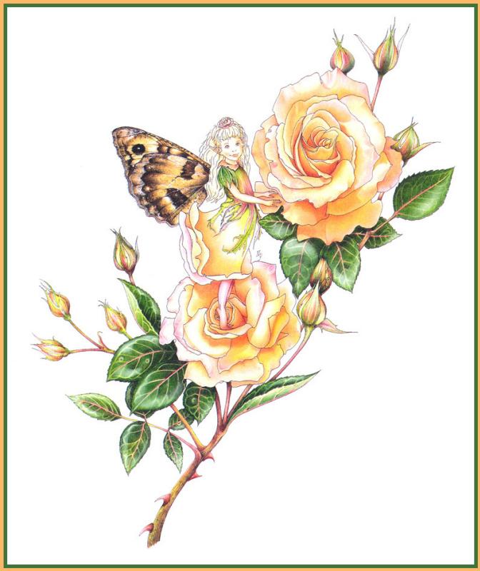Мирей Пети. Цветочная фея
